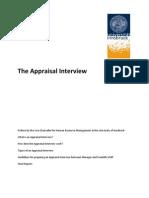 How an Appraisal-Interview Work