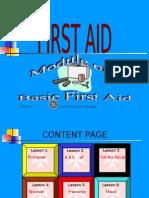 FIRST AID-Module One
