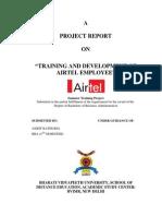 Training and Development of Airtel Employee