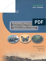 Macrounidades Ambientales Amazonia