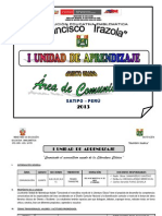 i Unidad de Aprendizaje 2013