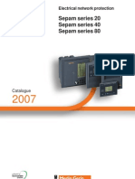 Sepam 20-40-80 Software & Additional Modules Accessories Catalogue Year 2007