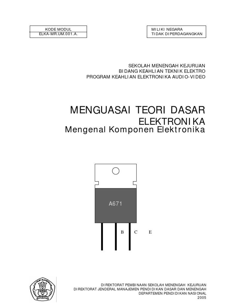 Mengenal komponen elektronika ccuart Images