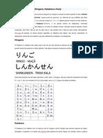 O alfabeto japonês