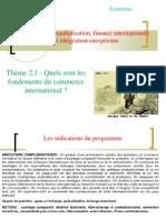 Thème 1 - Fondements du commerce international.ppt [Enregistrement automatique]
