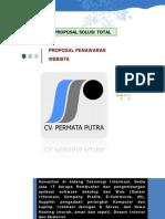 Proposal Penawaran WEBSITE Sekolah