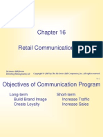 5 Retail Communicretailation Mix -Part 1