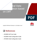 OMB321410 MBTS GSM V100R004 Initial Data Configuration Based on LMT ISSUE1.00