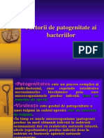 Factori de Patogenitate Ai Bacteriilor