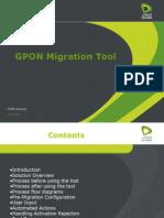 GPON Migration Tool