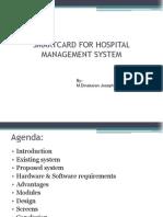 Smart Card for Hospital Management System