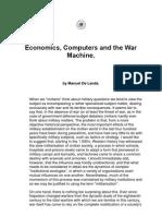 Economics and the Machine by Manuel de Landa