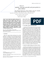 Antibiotic Activities of Peptides, Hydrogen Peroxide and Peroxynitrite In