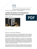 Análisis Económico de la Regulación Bancaria Internacional  2 de 2