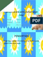 Satuan Acara Penyuluhan Pijat Bayi
