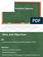 production  possibility diagrams 1