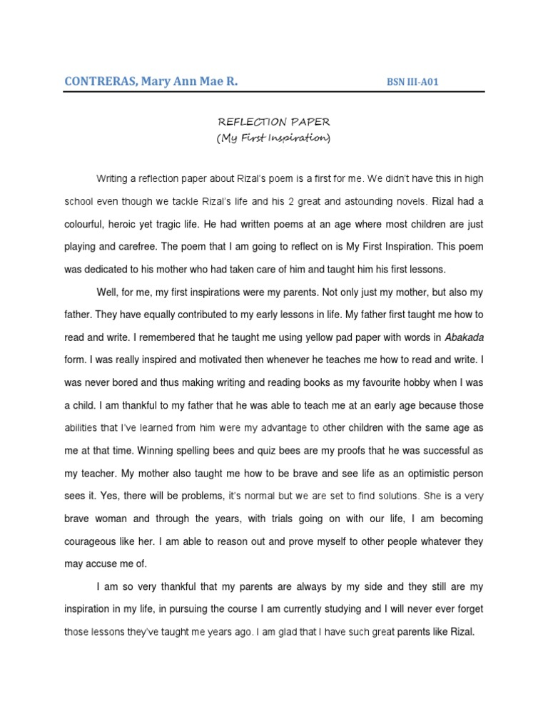 "reflection paper about life of jose rizal The movie ""jose rizal"" is all about our national hero dr jose rizal – his life and works  reflection paper rizal day reaction paper rizal in dapitan."