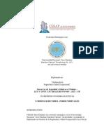 CESAP -Gestion de La Seguridad y Salud Ocupacional