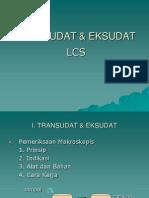 TRANSUDAT & EKSUDAT
