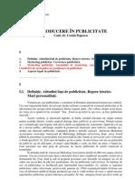 Popescu Costin - Introducere in Publicitate - Partea I