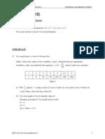 SPM Add Maths Paper 2