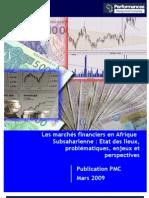 Etat des Lieux_Marchés Financiers en Afrique_PMC
