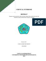 Refleksi Kasus Cervical Syndrom