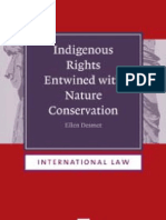 Heightened public awareness of the ever increasing loss of biodiversity has led to louder calls for effective nature conservation efforts. Most remaining biodiversity-rich areas are inhabited or used by indigenous peoples and local communities. In recent years a new 'paradigm' of 'nature conservation with respect for the rights of indigenous peoples and local communities' has emerged. Two questions arise