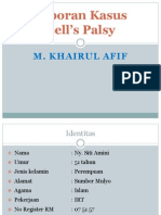 89377320 Laporan Kasus Bell s Palsy