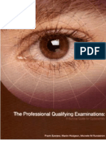 The Professional Qualifying Examination1