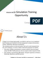 Business Simulation Training Opportunity -V1.0