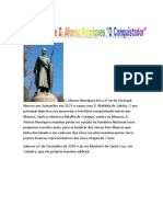 Biografia de D. Afonso Henriques