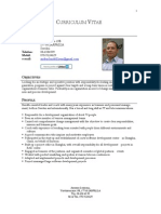 CV Anders Lundell English