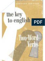 the Key to English Two Word Verbs Key to English Series