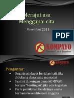 Kompayo Merajut Asa_2011