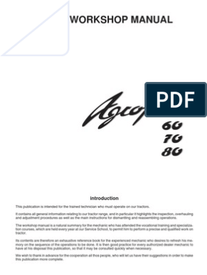 AGROPLUS 60-70-80 | Clutch | Transmission (Mechanics)