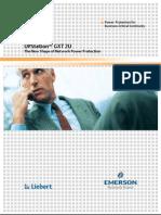 Liebert GXT 2U 700-3000VA - 50Hz - Brochure