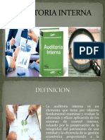Auditoria Interna Presentacion