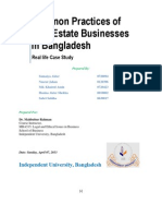 Real Estate Business in BD