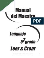 Leer y Crear 5 1