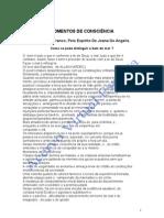 Momentos de Consciência (psicografia Divaldo Pereira Franco - espírito Joanna de Ângelis)