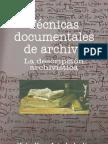 Técnicas documentales de archivo
