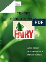 Proiect Tehnici Promotionale