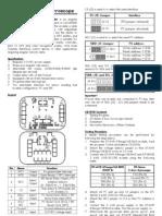 DT-Sense 3 Axis Gyroscope Manual Eng