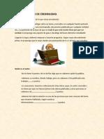 GUÍA DE ANALISIS DE CREDIBILIDAD