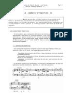 Analisis Musical - Tema 06 - Analisis Tematico 2