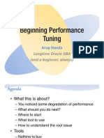 Beginning Perf Tuning Ppt