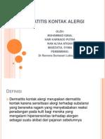 Dermatitis Kontak Alergi