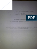 Centre for Sustainable Devlopment (CSDF) Rules & Regulations