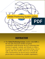 Global Positioning System (GPS) ppt